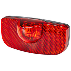 Busch + Müller D-Toplight Plus Dynamo-Rücklicht schwarz/rot